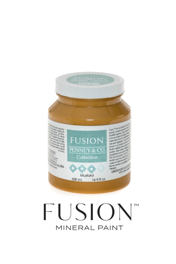 Mustard Fusion Mineral Paint
