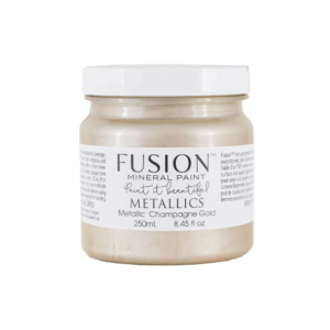 Champagne Gold Fusion Mineral Paint